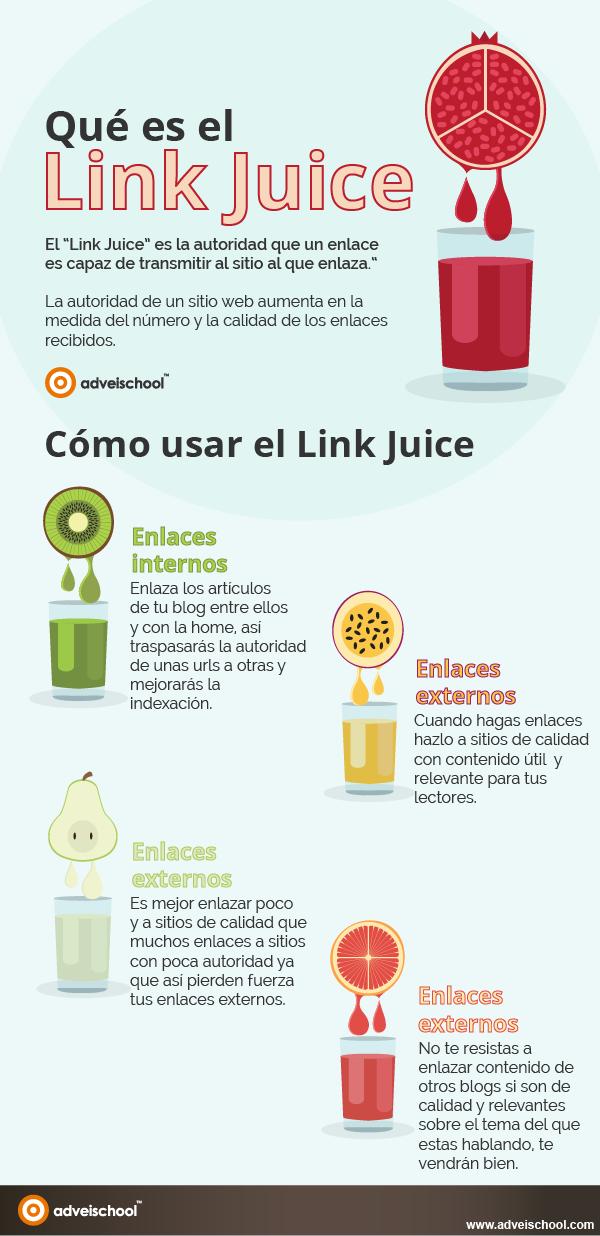 Qué es el Link Juice #infografia #infographic #seo