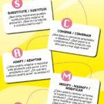 SCAMPER: La palabra que te ayudará con tu Creatividad #infografia #infographic