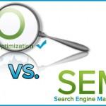 SEO vs SEM: Semejanzas y Diferencias #infografia