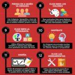 Si quieres crear una infografía perfecta toma nota de estos veinte consejos que….