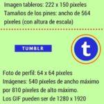 Tamaños de las imágenes para Redes Sociales #infografia #infographic #socialmedia