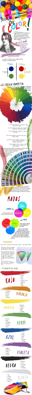 Teoría de Color #infografia #infographic #design