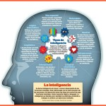 Tipos de inteligencia #infografia #infographic #psychology