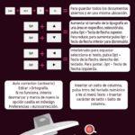 Trucos y comandos para InDesign #infografia #infographic #software #design