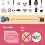 Consejos para sobrevivir a vuelos largos #infografia #infographic #tourism