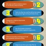 10 consejos para inspirarte #infografia #infographic