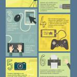 10 usos para tu cable OTG #infografia #inforaphic