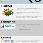 3 extensiones SEO para Chrome #infografia #infographic #seo