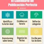 6 Claves para elaborar el Calendario de Publicación perfecto #infografia #infographic #socialmedia