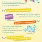 7 consejos para cuidar la vida de tu móvil #infografia #infographic
