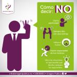 Cómo decir NO #infografia #infographic #psychology