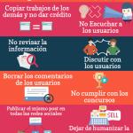Errores de Community Manager #infografia #infographic #socialmedia